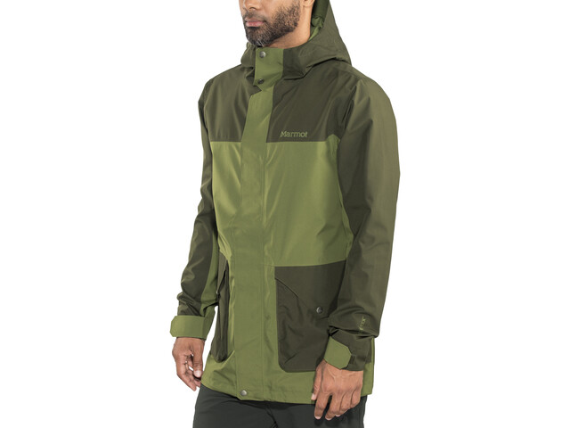 Marmot Wend Jas Heren, bomber green/forest night